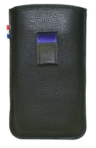 Decoded Leather Pouch Strap voor iPhone 4/4S Black