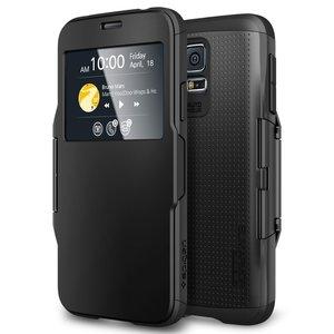 Spigen Slim Armor View case Galaxy S5 Black