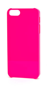 Xqisit iPlate Glossy case iPhone 5 Pink