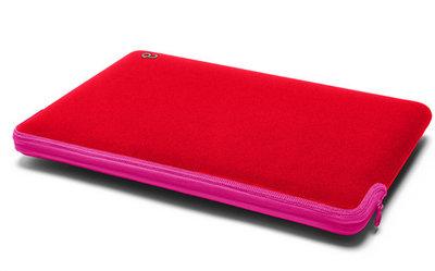 C6 Zip sleeve 12 inch Red