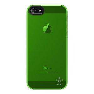 Belkin Shield Sheer Transparant iPhone 5 Fresh Green