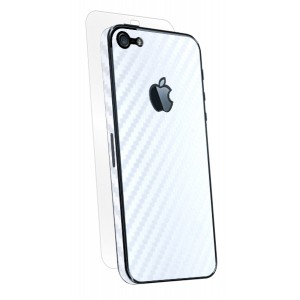 BodyGuardz iPhone 5 Armor Carbon White