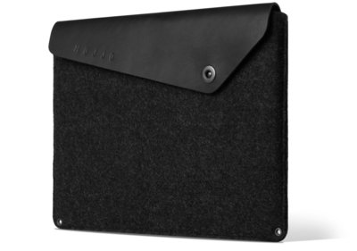 Mujjo Leather sleeve 12 inch Black