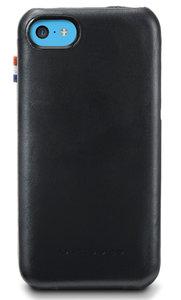Decoded Leather Flip case iPhone 5C Black