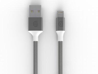 Griffin Premium 150 cm Silver Lightning kabel