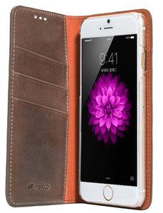 Melkco Herman Wallet case iPhone 6/6S Brown