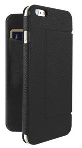 Just Mobile Quattro Folio case iPhone 6S Plus Black