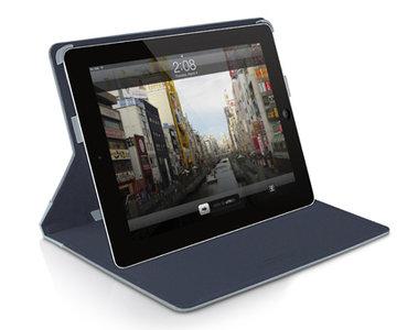 MacAlly Slim Folio Stand iPad mini Blue