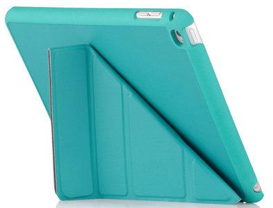 Pipetto Origami Luxe case iPad mini 4 Turquoise