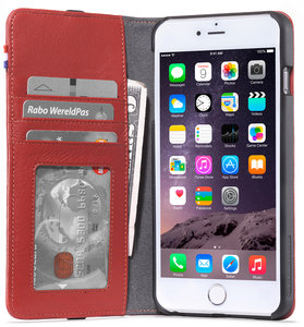 Decoded Leather Wallet case iPhone 6/6S Plus Red