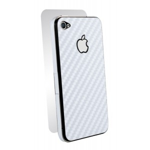 BodyGuardz iPhone 4/4S Armor Carbon White