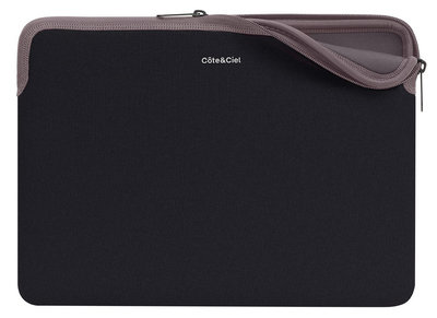 CoteEtCiel Zippered Sleeve 12 inch Black