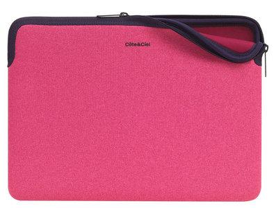 CoteEtCiel Zippered Sleeve 12 inch Pink