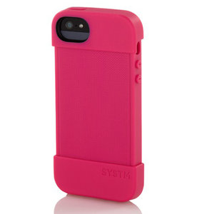 Systm Hammer case iPhone 5 Pop Pink