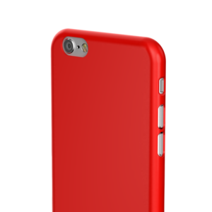 SwitchEasy Nude case iPhone 6/6S Red