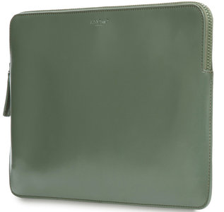 Knomo Leather sleeve 13 inch Green