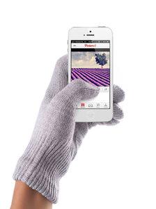 Mujjo Touchscreen Gloves Lavender Female