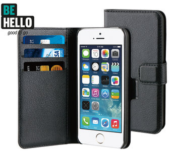 Be Hello Wallet case iPhone 5/5S Black