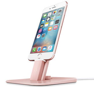 Twelve South HiRise Deluxe iPhone stand Rose Gold