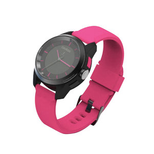 COOKOO Bluetooth Watch Black on Pink