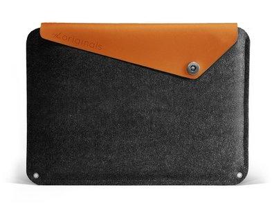 Mujjo Originals MacBook Pro 13 inch Retina sleeve Grey/Brown