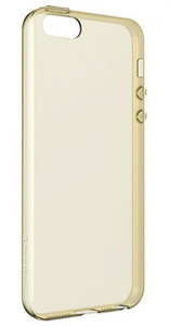 SwitchEasy Gel iPhone SE case Gold