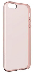 SwitchEasy Gel iPhone SE case Rose Gold