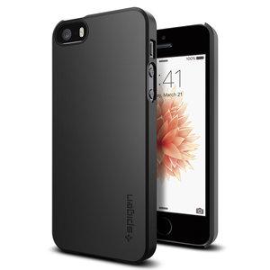 Spigen Thin Fit case iPhone SE Black