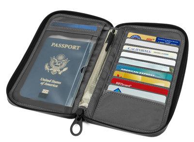 Incase Travel Passport wallet Heather Gray