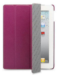 Melkco Slimme Cover iPad 2/3/4 Purple