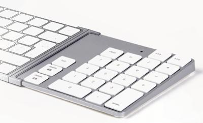 LMP Bluetooth KeyPad 2 toetsenbord Silver