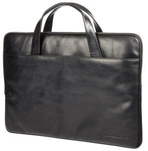 dbramante1928 Leather Silkeborg sleeve 15 inch Black