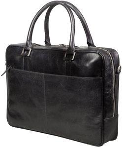 dbramante1928 Leather Rosenborg 16 inch bag Black