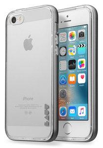 LAUT ExoFrame iPhone SE/5S hoesje Grey