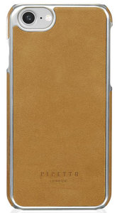 Pipetto Leather Snap iPhone 7 hoesje Brown