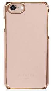 Pipetto Leather Snap iPhone 7 hoesje Pink