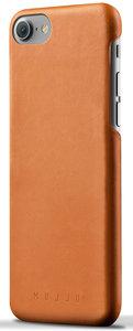 Mujjo Leather case iPhone 7 hoesje Tan