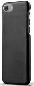 Mujjo Leather case iPhone 7 hoesje Black