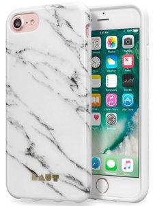 LAUT Huex iPhone 7 hoesje Marble White