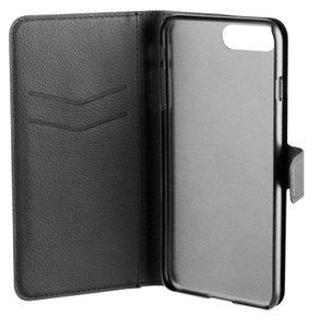 Xqisit Wallet iPhone 7 Plus hoesje Black
