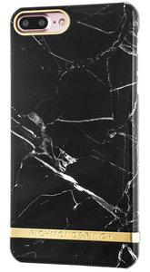 Richmond Finch Marble Glossy iPhone 7 Plus hoesje Black