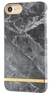 Richmond Finch Marble Glossy iPhone 7 Plus hoesje Grey