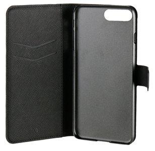 Xqisit Viskan Wallet iPhone 7 Plus hoesje Black
