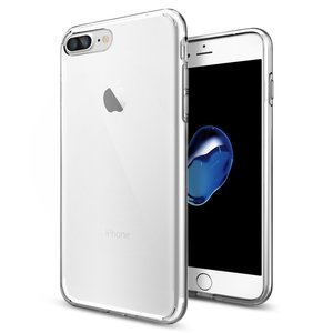 Spigen Liquid Crystal iPhone 7 Plus hoes Clear