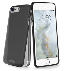 SBS Mobile Extra Slim iPhone 7 hoesje Black