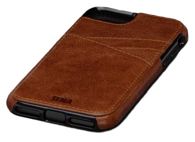 Sena Lugano Wallet iPhone 7 hoesje Brown