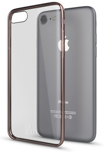 Be Hello Chrome Gel iPhone 7 hoesje Rose Gold