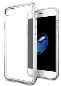 Spigen Ultra Hybrid iPhone 7 hoesje Clear