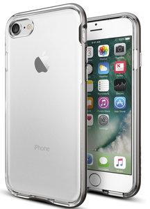 Spigen Neo Hybrid Crystal iPhone 7 hoesje Gun Metal