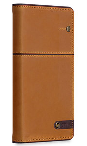 STILMIND Toscano iPhone 7 Wallet hoesje Brown
